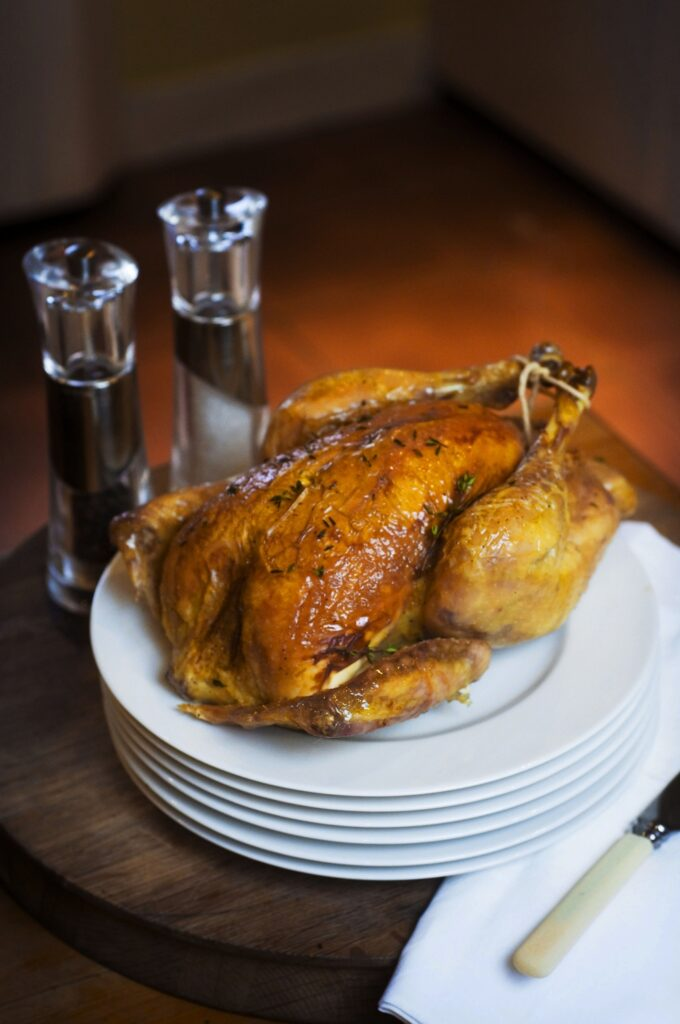 Hugh Grierson Organics do a Perfect Perthshire Bird! Thanks to Sascha for the Pic!